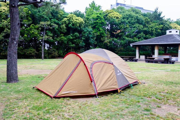 アメニティドームSインキャンプ場