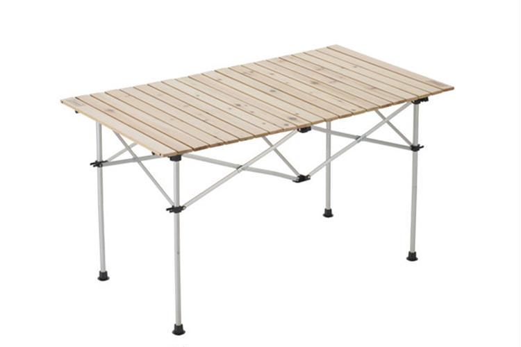 ナチュラルウッドロールテーブル/120ハイスタイル