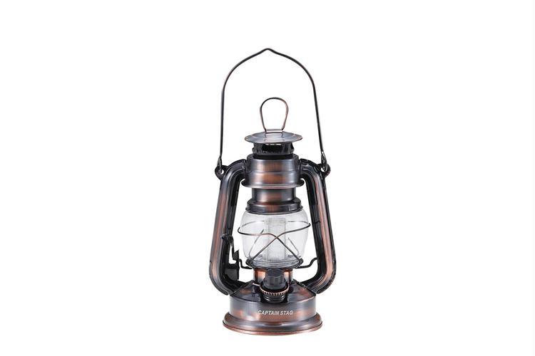 アンティーク暖色LEDランタン