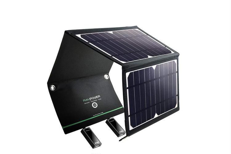 RAVPower ソーラー充電器