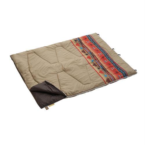 丸洗い寝袋ファミリー・10(ナバホ)開き