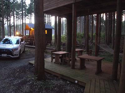 細野高原ツリーハウス村キャンプ場