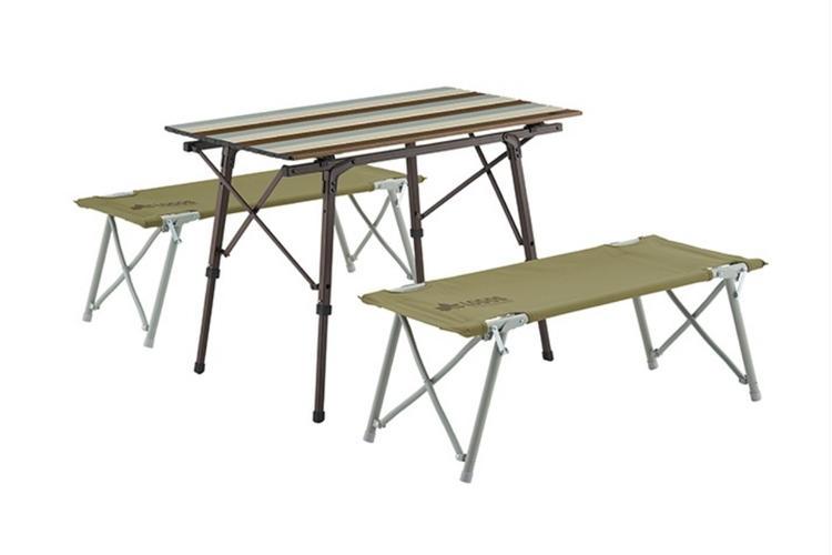 オートレッグベンチテーブルセット