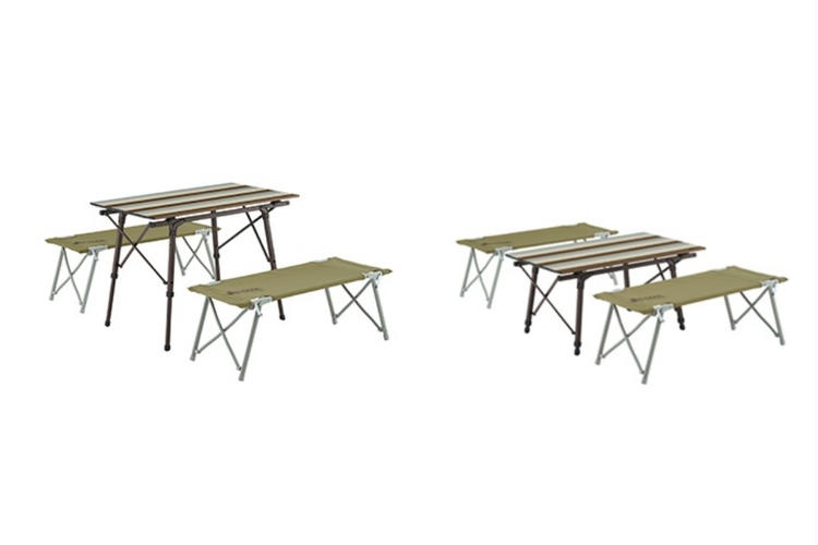 オートレッグベンチテーブルセット 使用例