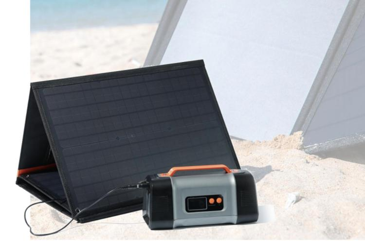 ポータブル電源&ソーラーパネル(FLASH150・SP60)