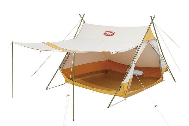 A Frame Tent T/C 4 オープン