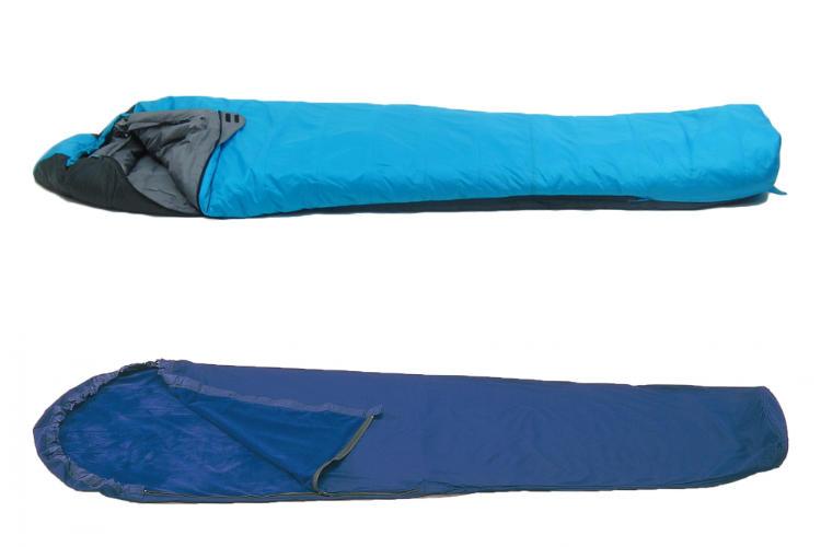 冬用寝袋(インナーシュラフ付き)