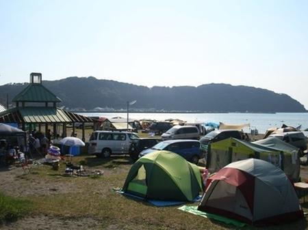 多田良北浜海岸キャンプ場
