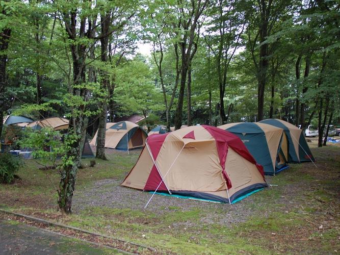 休暇村 茶臼山高原チャウシカの森キャンプ場
