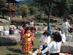赤城村沼尾川親水公園キャンプ場