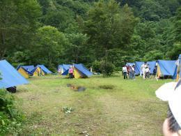 北月山キャンプ場