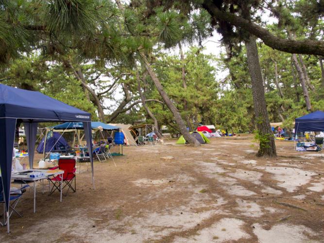 虹ヶ浜キャンプ場
