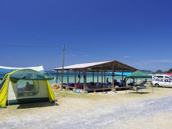 赤田キャンプ海水浴場