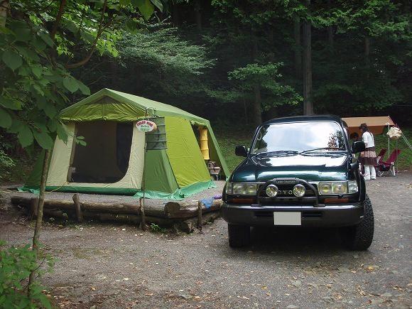 赤倉の森オートキャンプ場