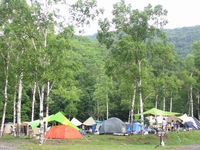 休暇村 乗鞍高原 一の瀬キャンプ場