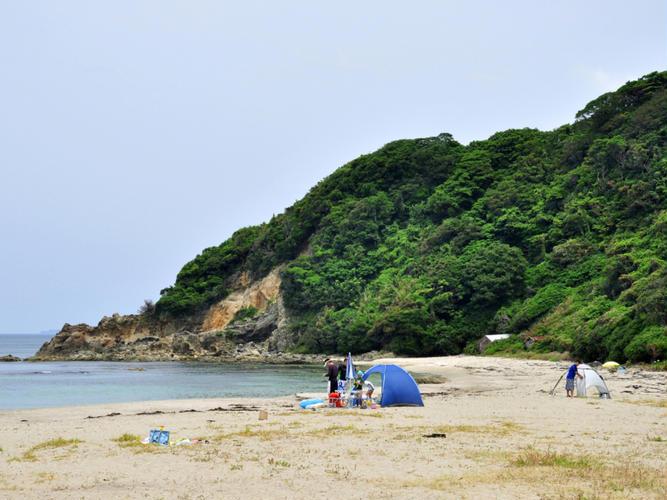 二位ノ浜キャンプ場