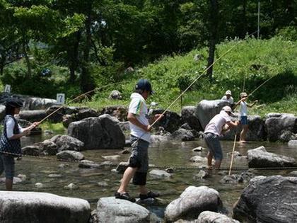 なかんじょ川釣り公園キャンプ場