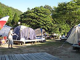 かぶと山公園キャンプ場