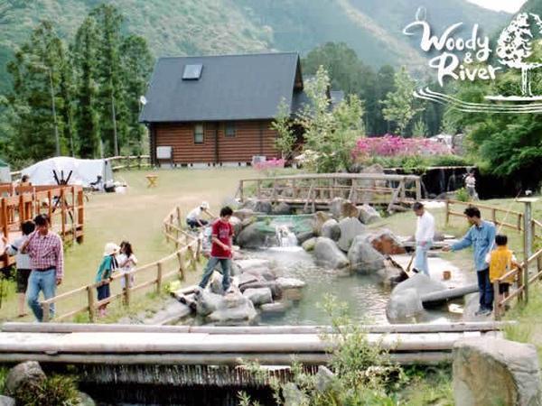 キャンプ場Woody&River